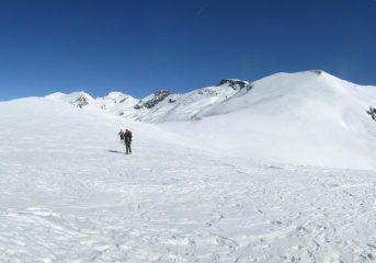 Pendio finale visto dal Monte Cappel