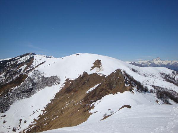 Alpe di Rittana dal Tagliarè