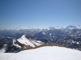 Tagliarè e Alpi Marittime dall'Alpe di Rittana