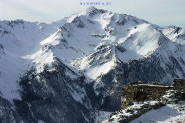 panorami dalla cima : Tete de Siguret (8-1-2006)