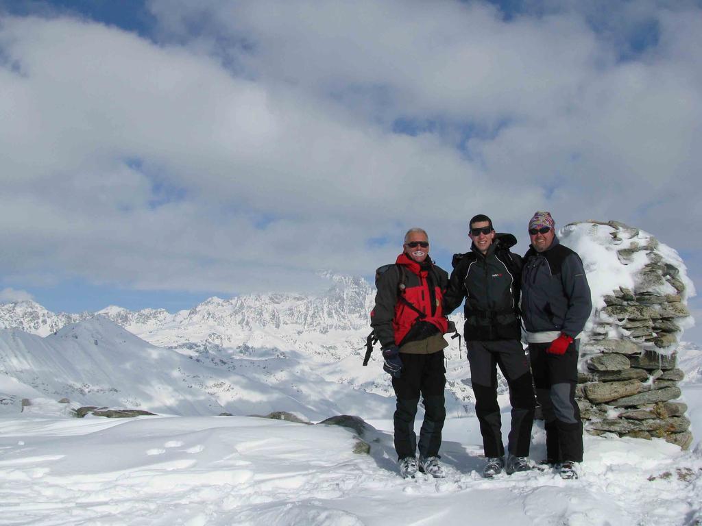 Ivo,Alberto e Mauro in punta