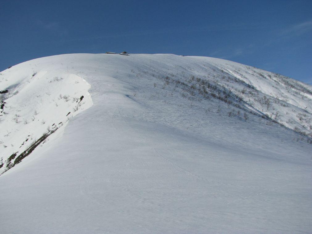 Salendo all'Alpe Calùs