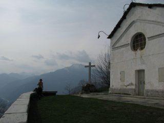 Roman in sosta, alla Cappella di Belice