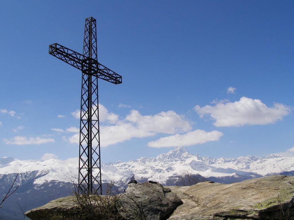 Panorama dalla Croce di Sanfront