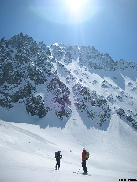 Montagne des Agneax - Couloir Piaget e Calotte