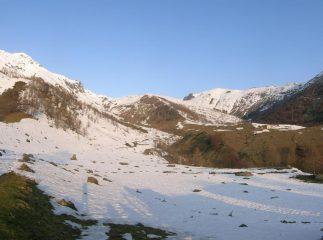 Pian Guraj visto dall'alpe Palè