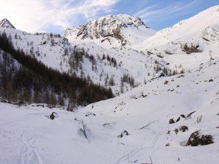 la parte bassa del Vallon de Corrouit