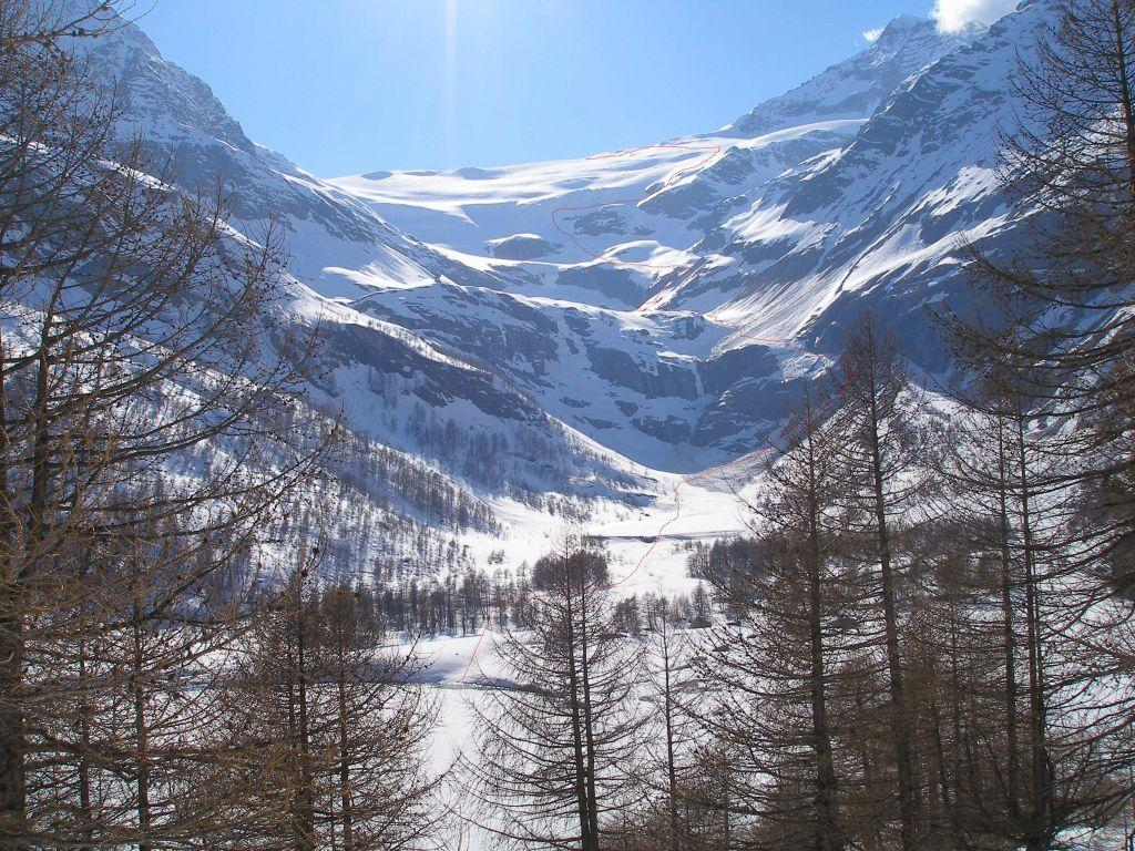 Palù (Piz) dal Diavolezza con discesa ad Alp Grum 2009-04-22