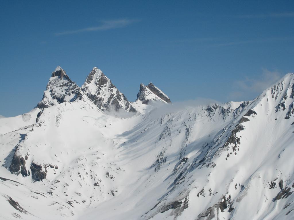 Trois Evechés (Pic des), spalla 3092 m da Col du Lautaret 2009-04-22