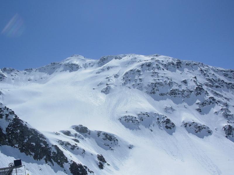 il versante nord del Valaisan