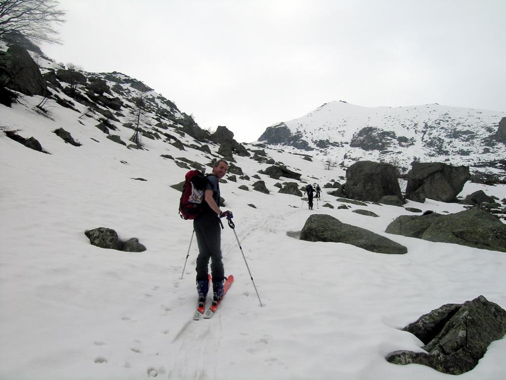 finalmente la neve, 1500m