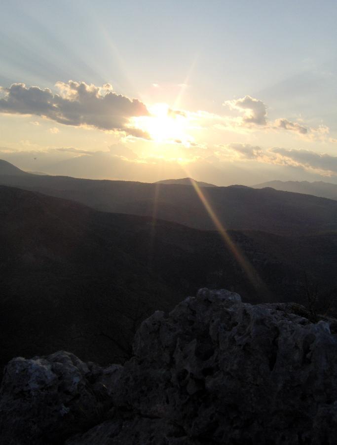 ..e che tramonto!!