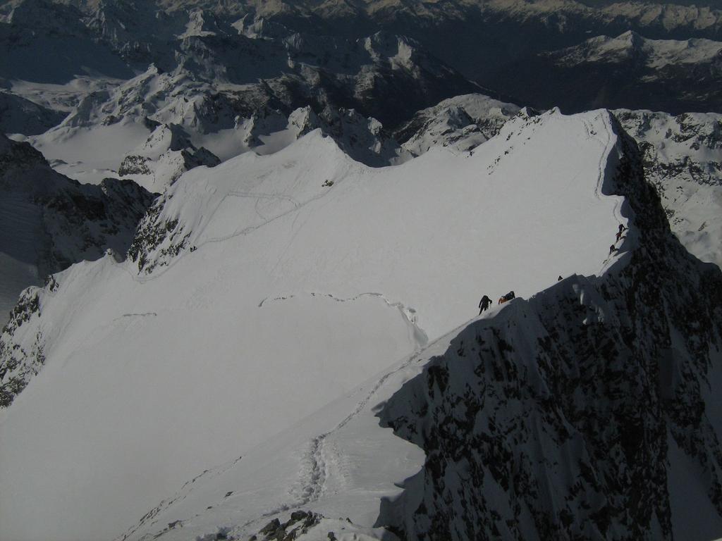 la cresta del Bernina