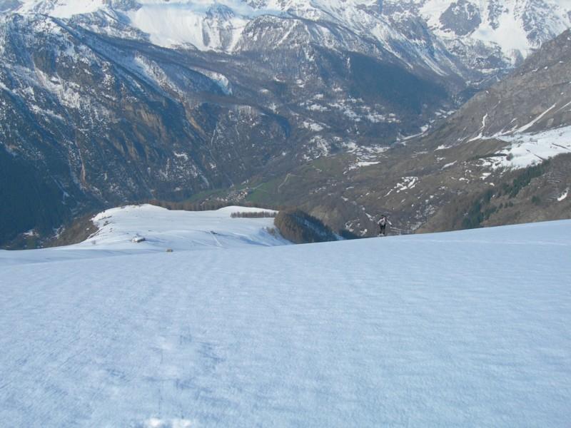 Panorama salendo verso il Monte Cappel