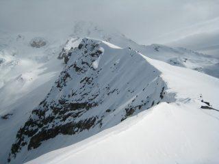 In alto la cresta erroneamente raggiunta