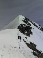 1°tratto di cresta all'anticima 2579m