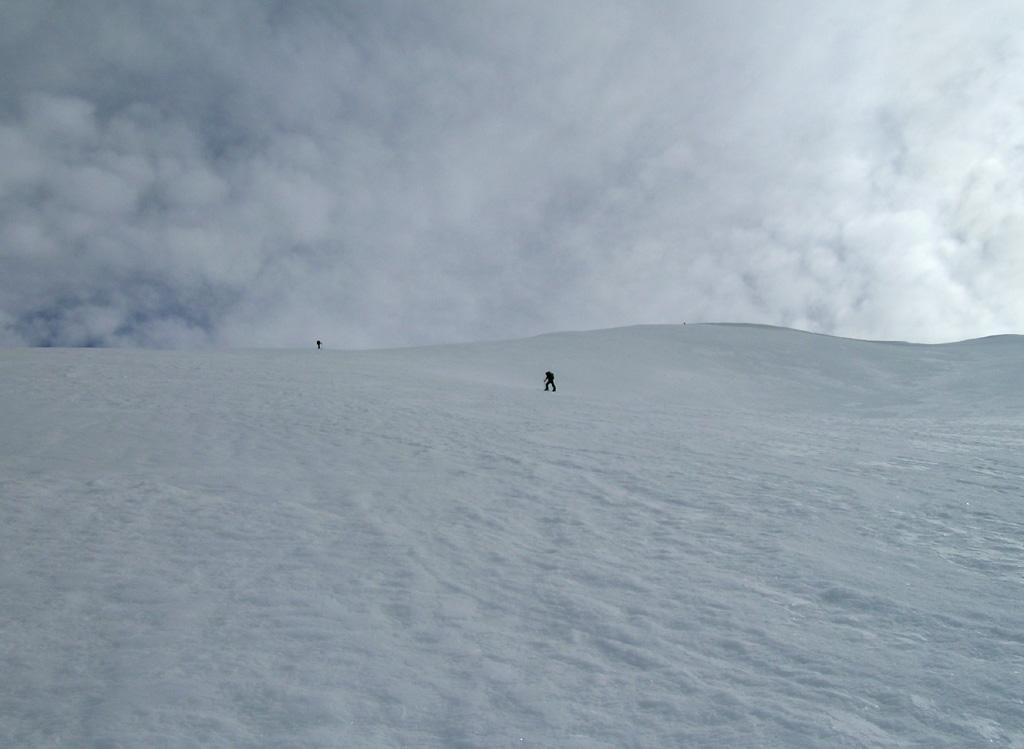 verso la cresta finale