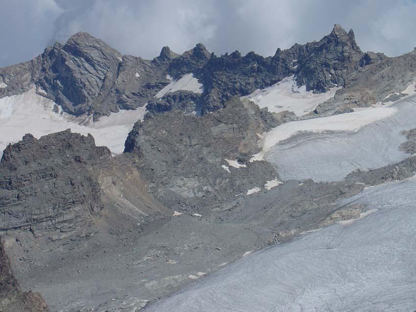 l'Arête du Mulinet dal Dome al Col de la Gura