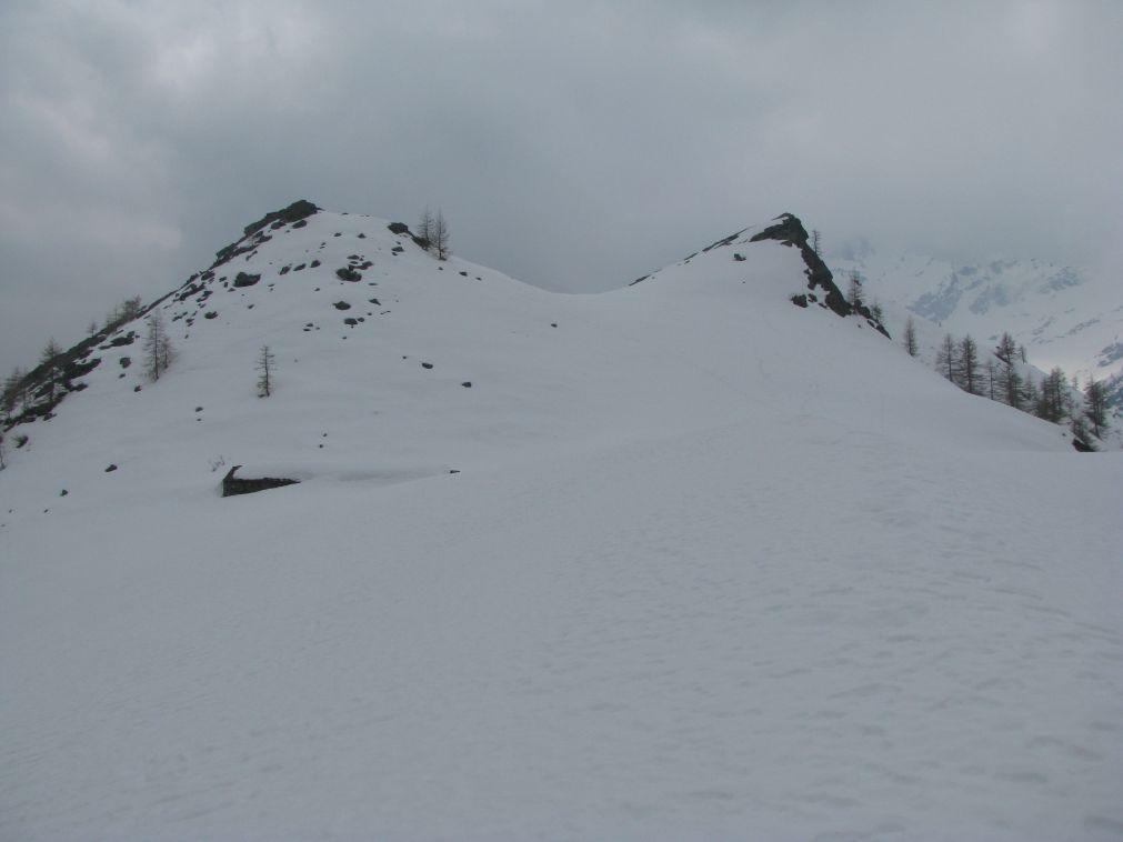 La Baita Fanton di sopra semisommersa dalla neve