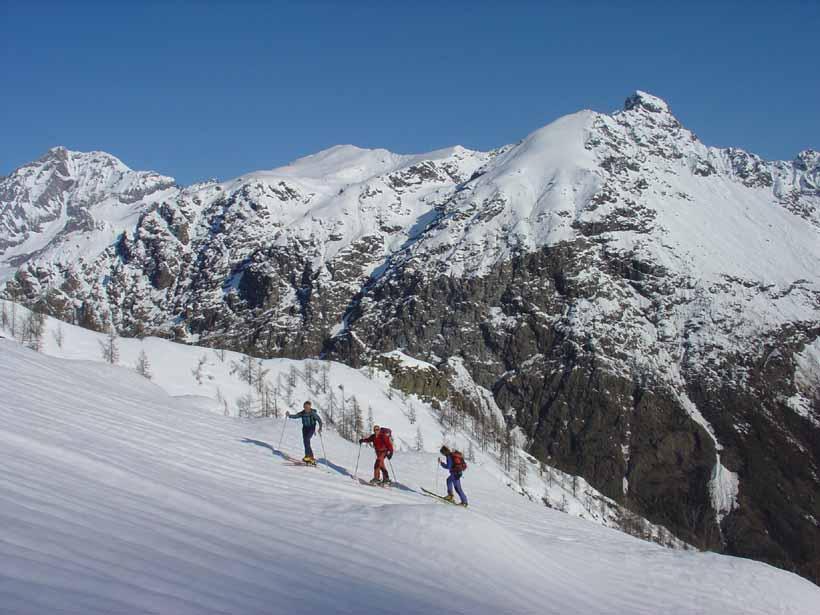 Verso l'Alpe del Lago