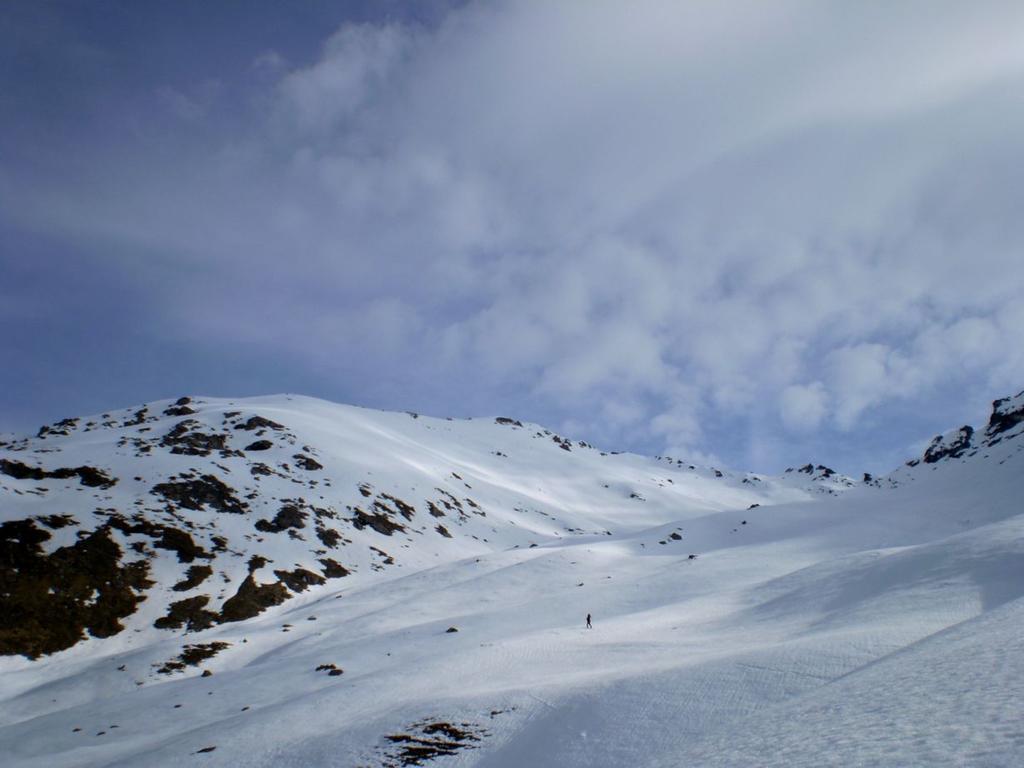 Vallone del Boucher visto da quota 2.400 mt