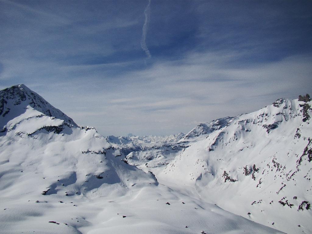 Tanta neve nel vallone delle Savine!!!