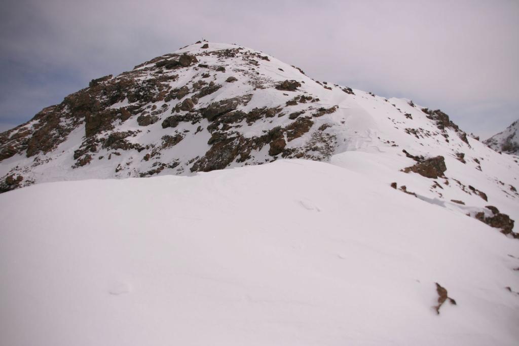 Eyssiloun (Tete de l'), Adrechouns (Tete des) da Saint Ours per il Col de Mirandol e la cresta Sud-Est 2009-05-14