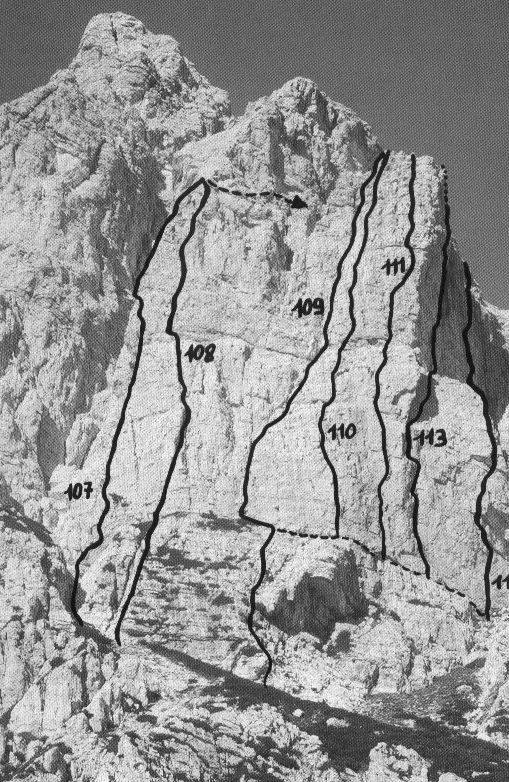 Moiazza - Torre Jolanda (2350m) Via Super-Soro 2007-06-05