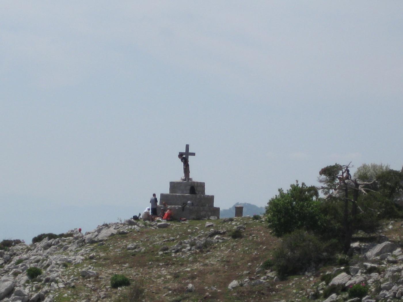 la croce grande (dei francesi)