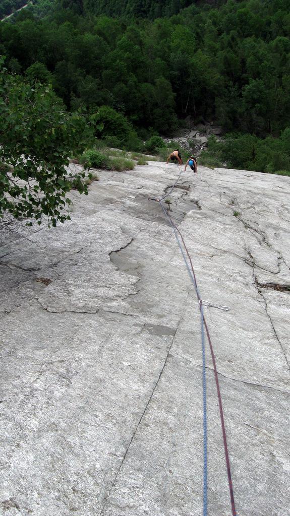 Val Pujer (Placche della) Senza perdere la tenerezza 2009-05-17