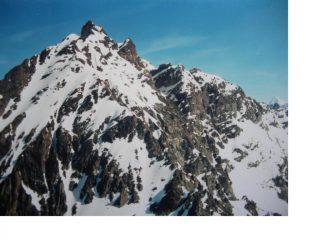 La Becca d'Arbiere dalla P.Montagnaya