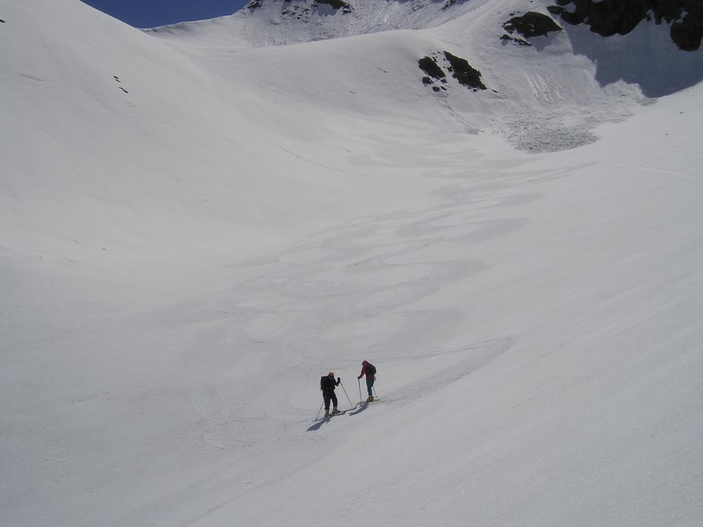 I pendii alti ci hanno regalato una neve stupenda