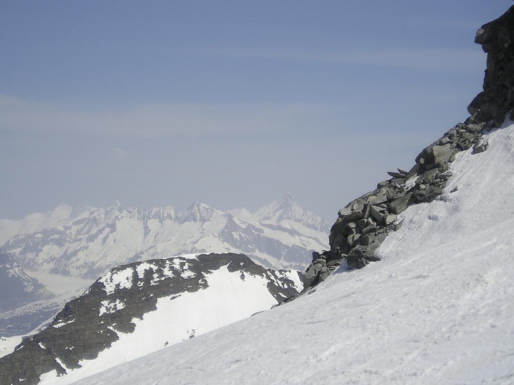 Sullo sfondo il Finsterarhorn