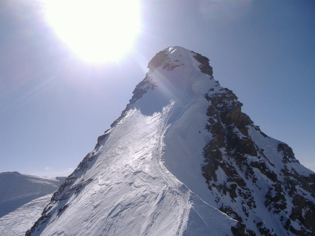 2^pendio di neve sulla cresta