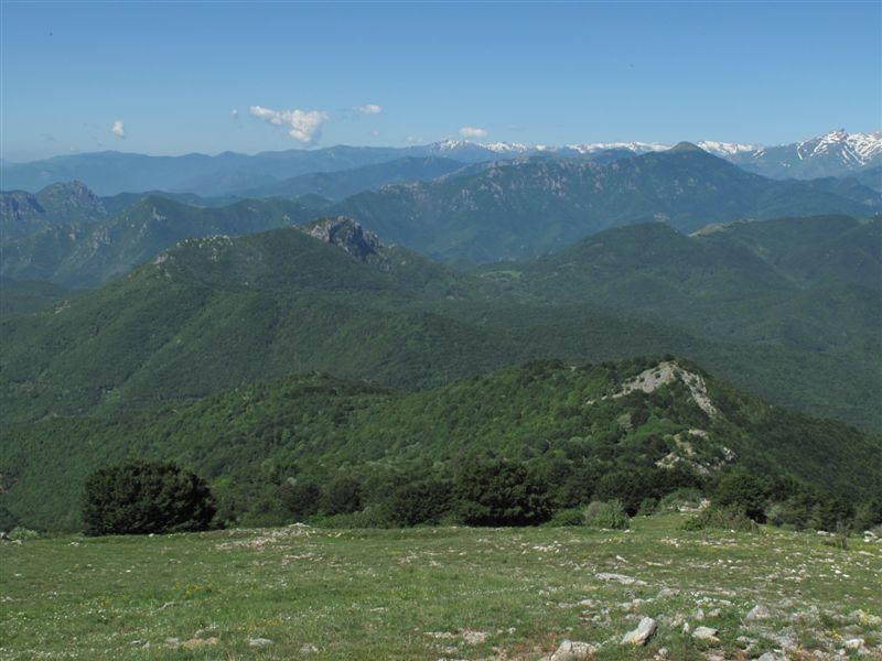 La Rocca Barbena vista dal Carmo