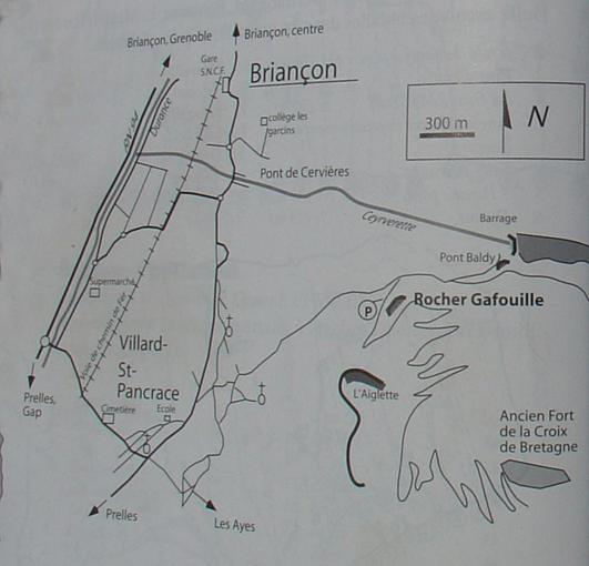 Gafouille (Rocher) Villard Saint Pancrace 2007-07-31
