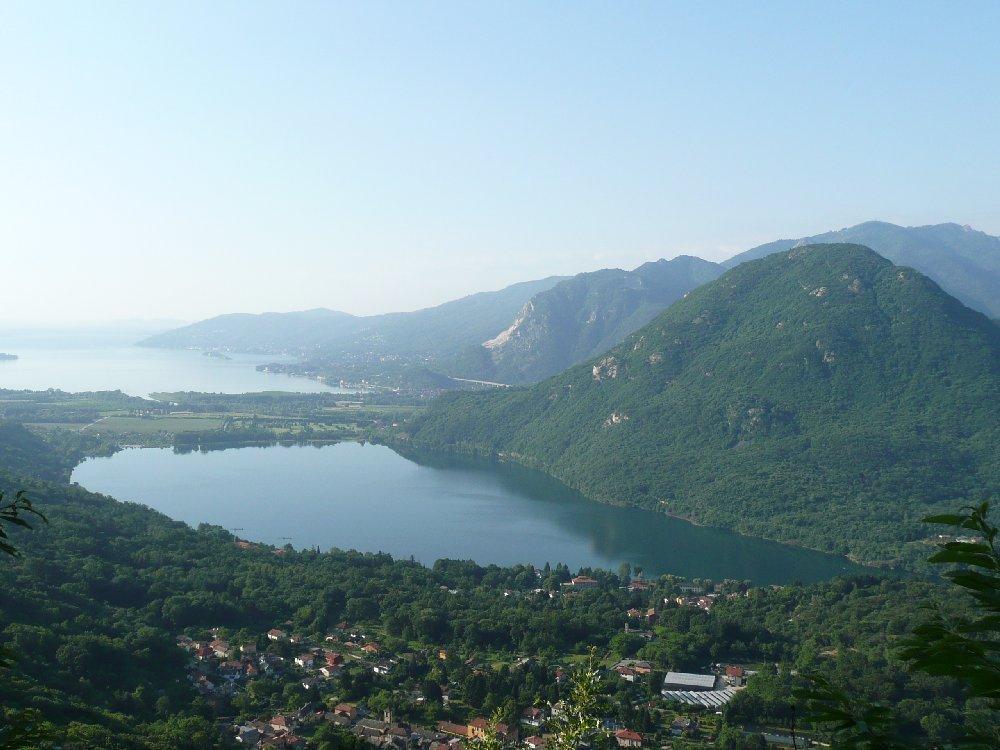 Lago Mergozzo e Monte Orfano.