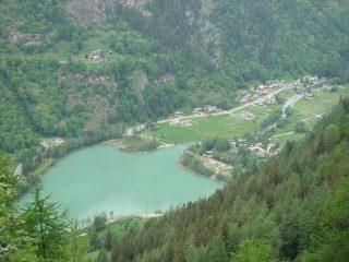 vista sul lago di Maen