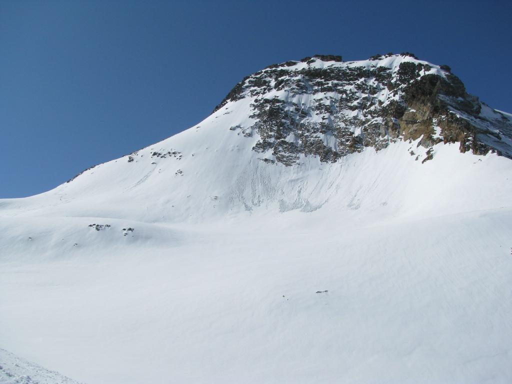 Sotto la cima del Boshorn