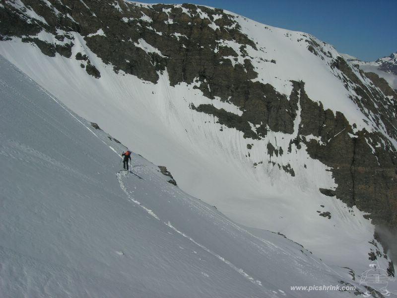 verso il glacier de Charbonnel
