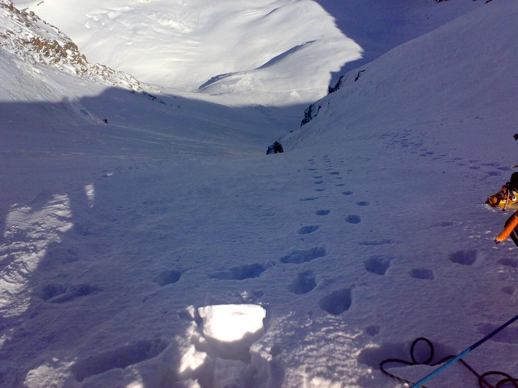 Gli ultimi metri prima della cima