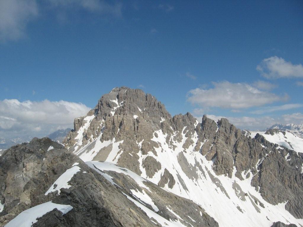 Oronaye dalla cima