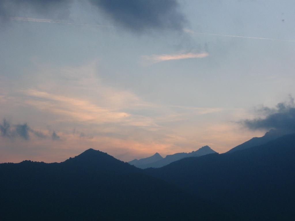 Luci del tramonto.....