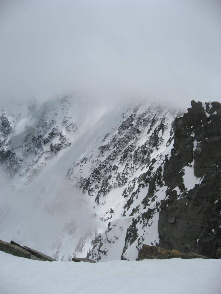 La parete Nord del Fletschorn