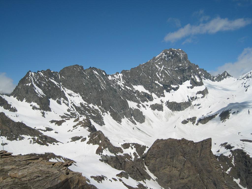 Bessanese vista dalla cima