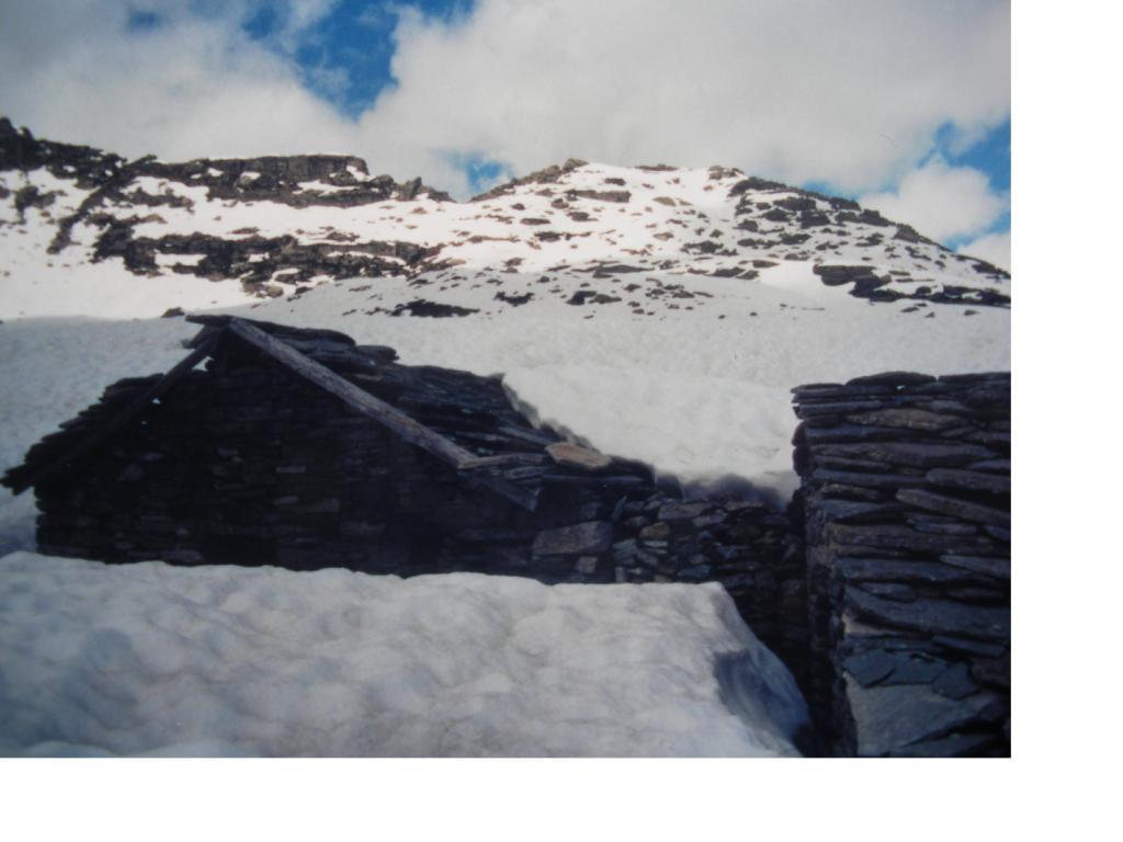 Il Bec di Mezzodi' dall'Alpe Gias dei Laghi ai Laghi del Trione