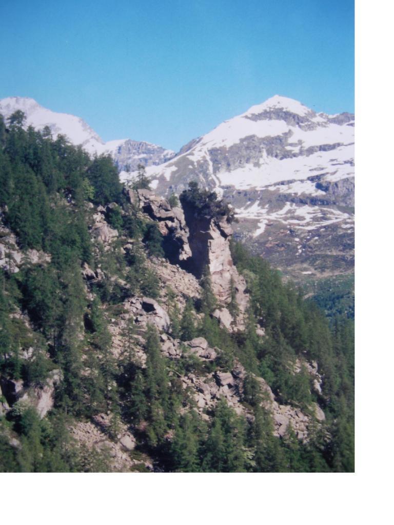 Il Bec Ceresin dalla conca del Trione