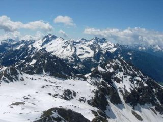 Mont Nery e Dame di Challand dalla vetta