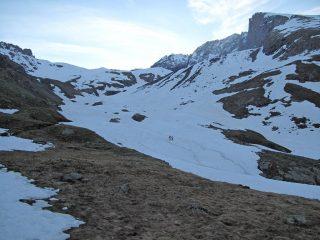 la neve, a 2300m
