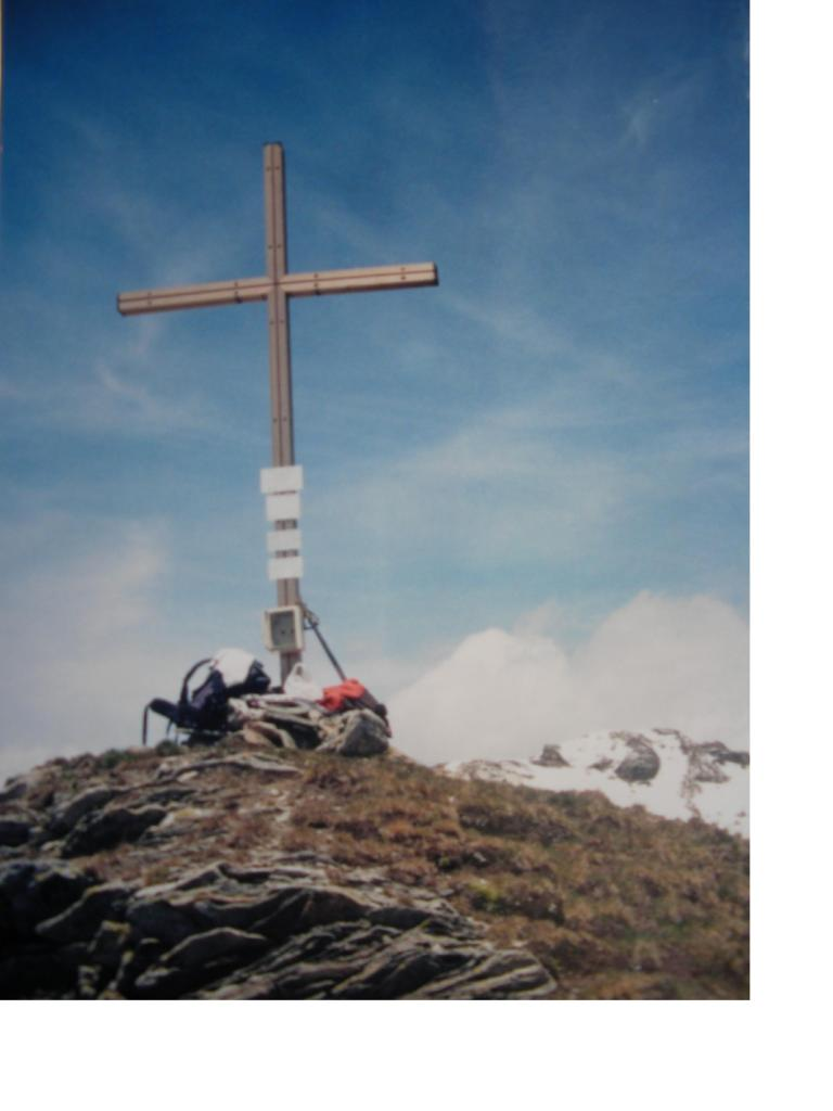 La croce di vetta della P.Goa'